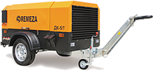 Portable compressors with DEUTZ diesel engine (Germany)
