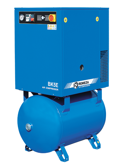 Belt driven 4-15 kW compressor